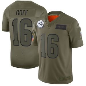 Men's Los Angeles Rams Jared Goff Jersey
